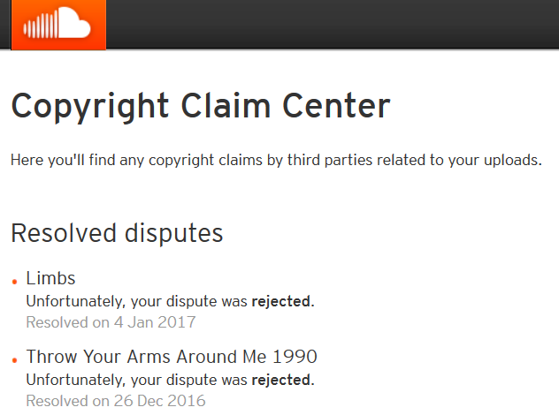 SoundCloud Fail
