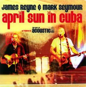 April Sun in Cuba promo (with James Reyne) (cover)