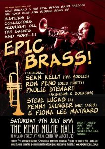 Epic Brass Poster