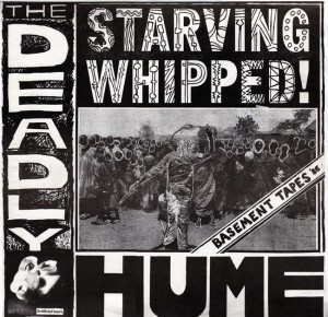 The Deadly Hume - Starving Whipped EP (cover)